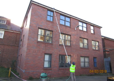 Commercial Gutter cleaning Lincolnshire
