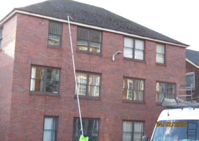 Commercial Gutter cleaning Hull