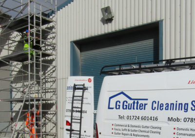 LG Commercial Gutter Cleaning Grimsby
